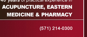 Acupuncture, Eastern Medicine and Pharmacy